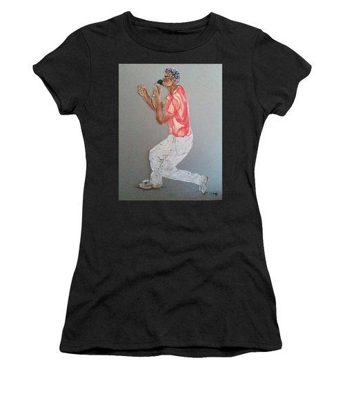 Singer Women's T-Shirt (Athletic Fit)