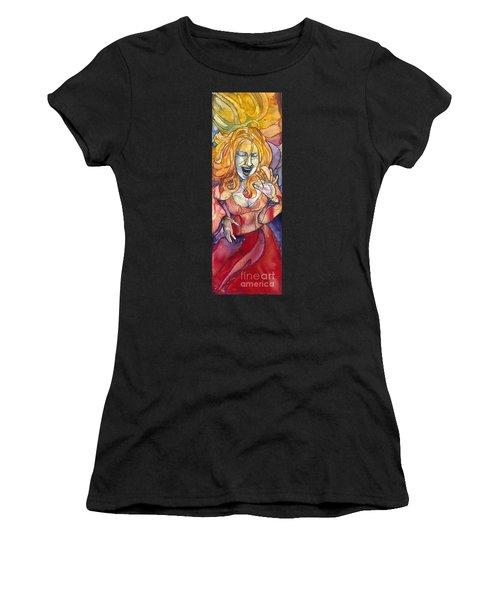 Singing Lady Pop Women's T-Shirt