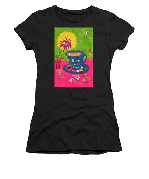 Sip Of Luv Women's T-Shirt