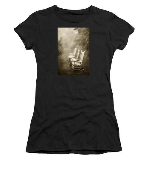 Sit A Spell-sepia Women's T-Shirt