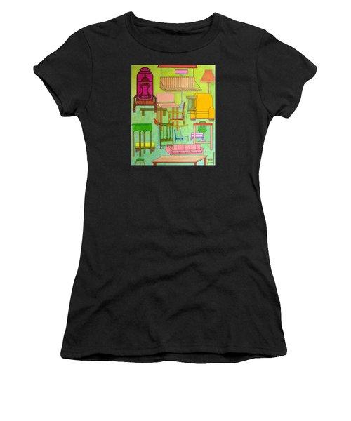 Sit Down Women's T-Shirt (Athletic Fit)