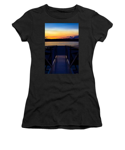 Sitting On The Dock Of A Bay Women's T-Shirt