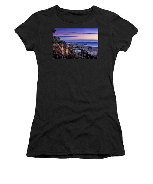 Sitting On The Fence - Santa Monica Pier Women's T-Shirt