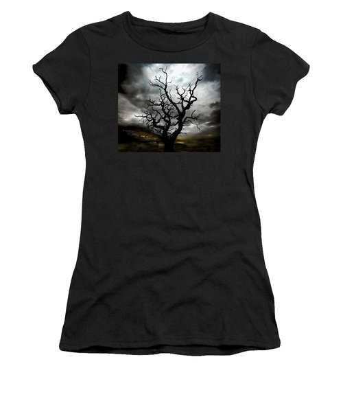 Skeletal Tree Women's T-Shirt (Athletic Fit)