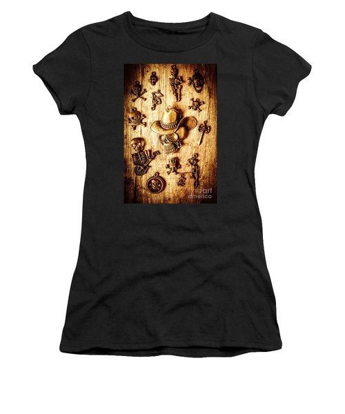Skeleton Pendant Party Women's T-Shirt