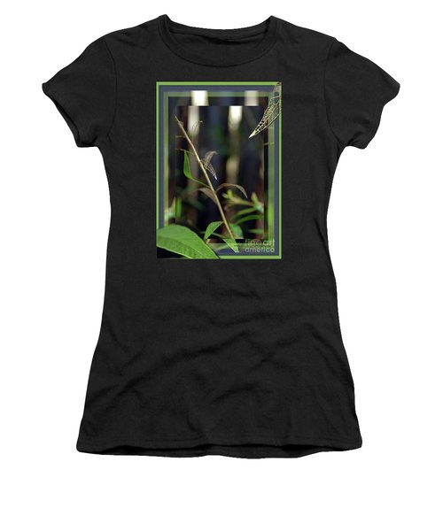 Women's T-Shirt (Junior Cut) featuring the photograph Skeletons And Skin by Vicki Ferrari