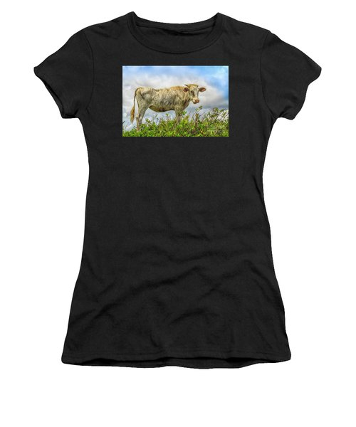 Skinny Cow Women's T-Shirt (Athletic Fit)
