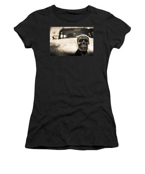 Skull Car Women's T-Shirt