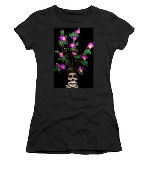 Skull Vase Women's T-Shirt