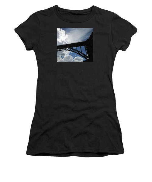 Sky Bridge Women's T-Shirt (Athletic Fit)