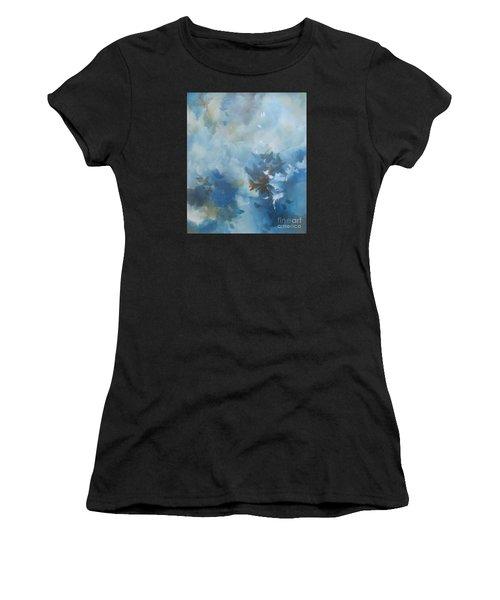 Sky Fall I Women's T-Shirt (Athletic Fit)