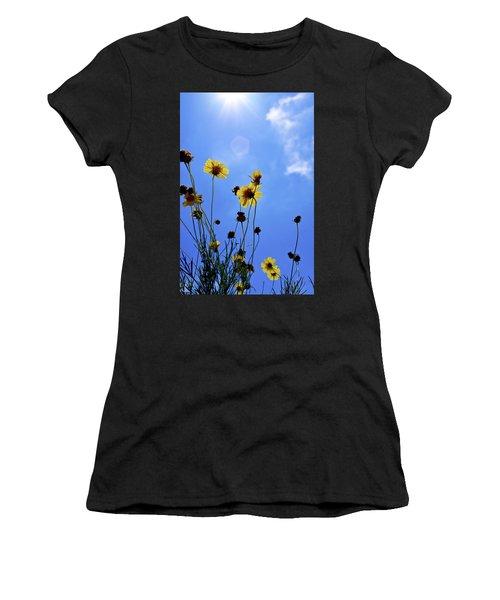 Sky Flowers Women's T-Shirt