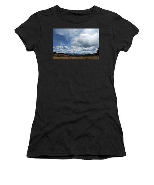 Sky Of Shrine Ridge Trail Women's T-Shirt (Athletic Fit)