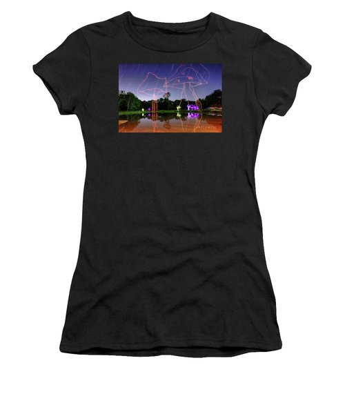 Sky Shrooms Women's T-Shirt (Junior Cut) by Andrew Nourse