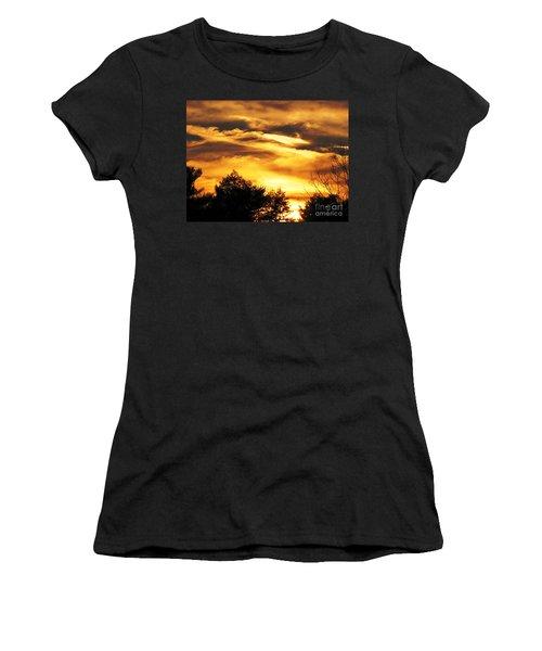 Sky Study 7 3/11/16 Women's T-Shirt (Junior Cut) by Melissa Stoudt