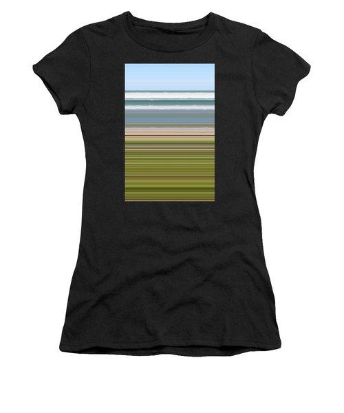 Sky Water Earth Grass Women's T-Shirt