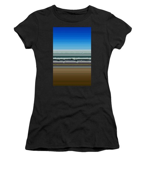 Sky Water Earth Women's T-Shirt (Athletic Fit)