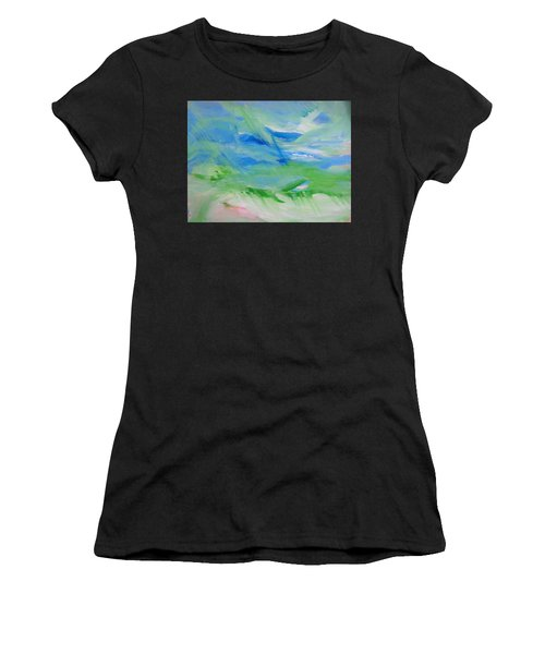 Skyland Women's T-Shirt (Athletic Fit)