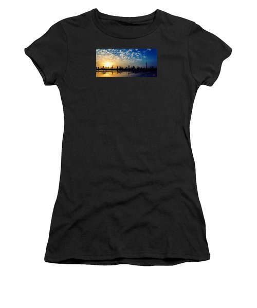 Skyline Women's T-Shirt (Athletic Fit)