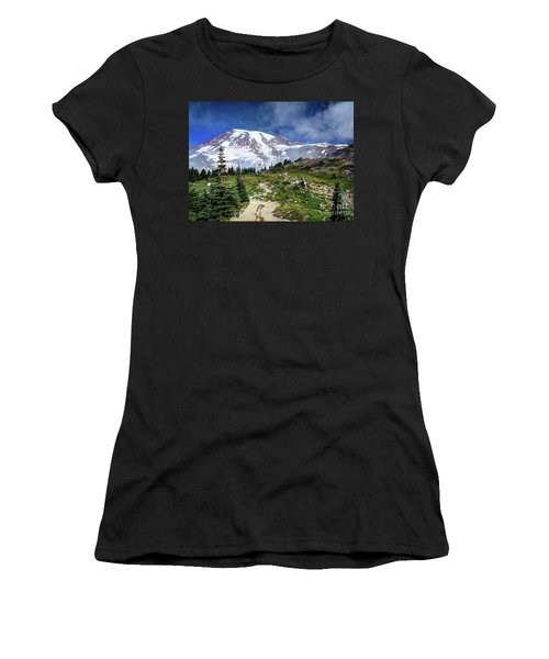 Skyline Trail Women's T-Shirt (Athletic Fit)