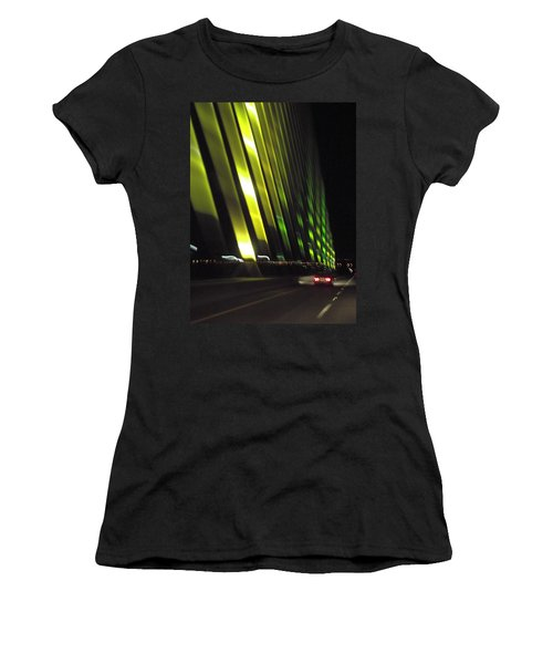 Skyway At Night 5559 Women's T-Shirt (Athletic Fit)