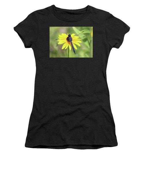 Slaty Skimmer  Women's T-Shirt (Athletic Fit)