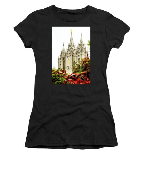 Slc Temple Angle Women's T-Shirt (Athletic Fit)