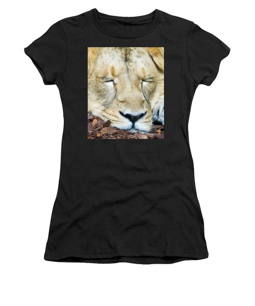 Sleeping Lion Women's T-Shirt