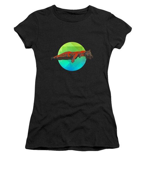 Sleeping Tiger Women's T-Shirt