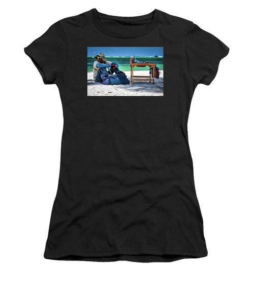 Slow Sales Day Women's T-Shirt (Athletic Fit)