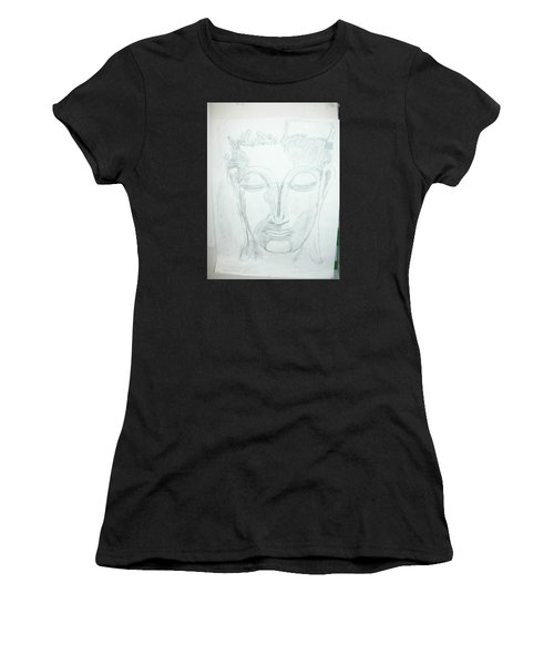Slumbering Buddha Women's T-Shirt (Athletic Fit)