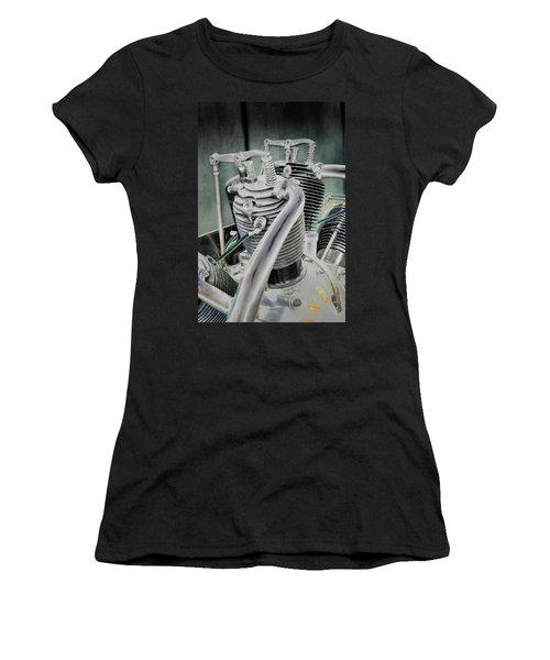 Small Radial Engine Women's T-Shirt