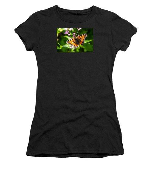 Small Tortoiseshell Women's T-Shirt (Junior Cut) by Martina Fagan