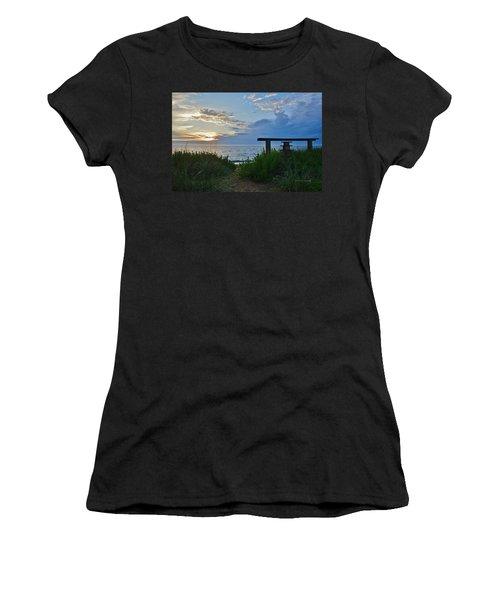 Small World Sunrise   Women's T-Shirt