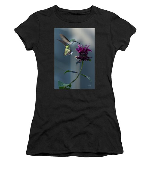 Smiles In The Garden Women's T-Shirt (Athletic Fit)
