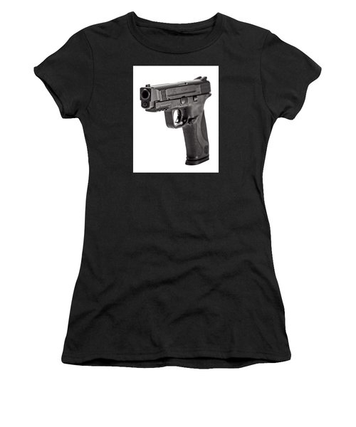 Smith And Wesson Handgun Women's T-Shirt
