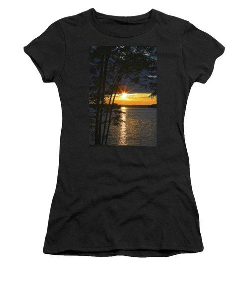 Smith Mountain Lake Summer Sunet Women's T-Shirt