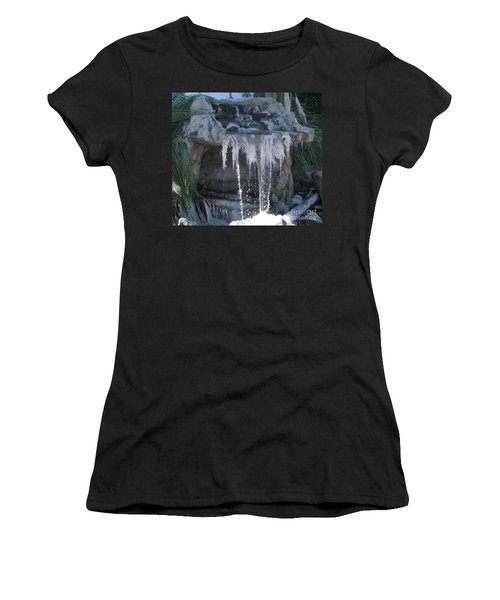 Smokey Stoves Frozen Falls Women's T-Shirt