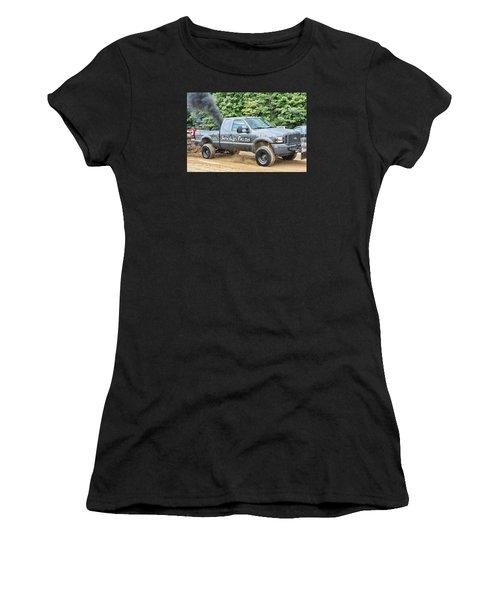 Smokin' Guns Women's T-Shirt (Athletic Fit)