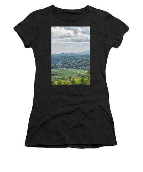 Smoky Mountain Scenic View Women's T-Shirt