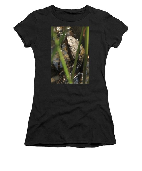 Snake In The Water Women's T-Shirt (Athletic Fit)