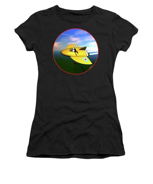 Snoopy The Flying Ace Women's T-Shirt