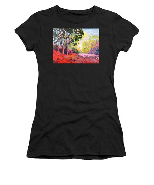 Snoqualmie Story Women's T-Shirt (Athletic Fit)
