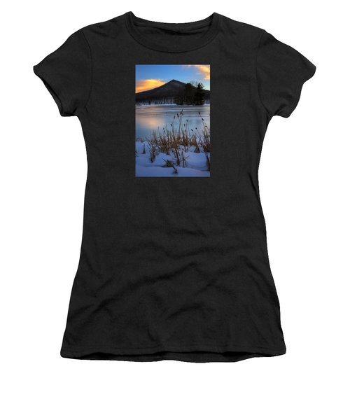 Snow At The Peaks Women's T-Shirt (Athletic Fit)