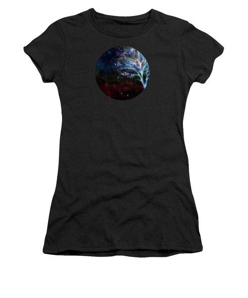 Snow At Twilight Women's T-Shirt