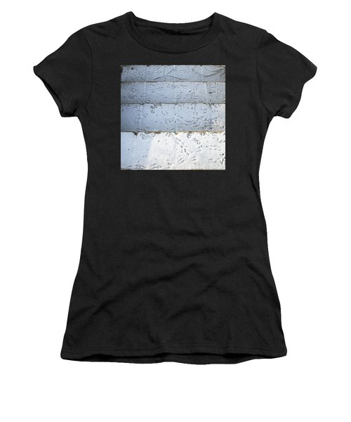 Snow Bird Tracks Women's T-Shirt