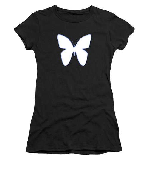 Snow Butterfly Women's T-Shirt (Junior Cut) by Bill Owen