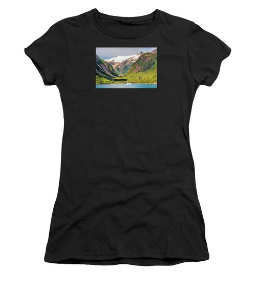 Snow Capped Women's T-Shirt (Athletic Fit)