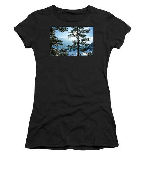 Snow-covered Trees Women's T-Shirt