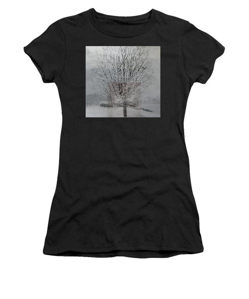 Snow Day Women's T-Shirt (Athletic Fit)